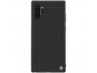 Husa TPU Nillkin Textured Hard pentru Samsung Galaxy Note 10 N970, Neagra, Blister