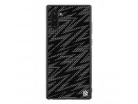 Husa Plastic - TPU Nillkin Twinkle Hard pentru Samsung Galaxy Note 10 N970, Neagra, Blister