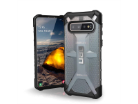 Husa Plastic Urban Armor Gear UAG Plasma pentru Samsung Galaxy S10 G973, Argintie (ICE), Blister