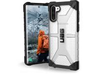 Husa Plastic Urban Armor Gear UAG Plasma pentru Samsung Galaxy Note 10 N970, Argintie (ICE), Blister