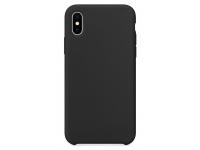 Husa TPU OEM Pure Silicone pentru Apple iPhone XR, Neagra, Bulk