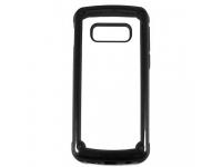 Husa TPU OEM Pancer Antisoc pentru Samsung Galaxy Note 10 N970, Neagra - Transparenta, Bulk