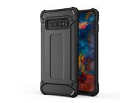 Husa Plastic - TPU OEM Tough Armor pentru Apple iPhone 11 Pro, Neagra, Bulk