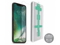 Folie Protectie Ecran Nevox pentru Apple iPhone 11 Pro, Sticla securizata, Cu rama ajutatoare, 3D, 0.33mm, Blister