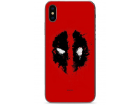 Husa TPU Marvel Deadpool 012 pentru LG K40, Rosie, Blister