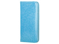 Husa Piele Forcell SHINING Book pentru Apple iPhone 6 / Apple iPhone 6s, Bleu, Bulk