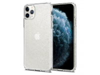 Husa TPU Spigen Liquid Crystal Glitter pentru Apple iPhone 11 Pro, Transparenta, Blister 077CS27229