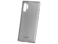 Husa TPU Kisswill pentru Samsung Galaxy Note 10 N970, Gri - Transparenta, Blister