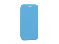 Husa Piele OEM Elegance pentru Samsung Galaxy A40 A405, Bleu, Bulk