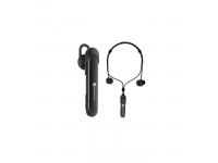 Handsfree Casca Bluetooth Borofone In-Ear, Clever 2in1, BE10, SinglePoint, Negru, Blister