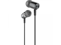 Handsfree Casti In-Ear Borofone U-Melody BM15, Cu microfon, 3.5 mm, Gri, Blister