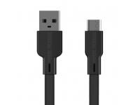 Cablu Date si Incarcare USB la USB Type-C Proda Fons PD-B18a, 2.1A, 1 m, Negru, Blister