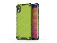 Husa Plastic - TPU OEM Shockproof Honeycomb pentru Samsung Galaxy A10 A105, Verde