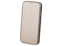 Husa Piele OEM Elegance Universala pentru Telefon 5,1 - 5,5 inci, 153 x 77 mm, Aurie, Bulk