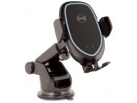 Suport Auto Universal OEM pentru ACH-100, cu incarcare Wireless, 5,5 - 9,3, Negru, Blister