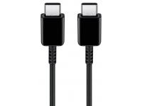 Cablu Date si Incarcare USB Type-C  la USB Type-C Samsung EP-DG977BBE, 5A, 1 m, Negru, Bulk
