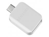 Adaptor OTG USB la USB Type-C Samsung, Alb, Bulk GH96-12489A