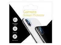 Folie Protectie Camera spate OEM pentru Apple iPhone X, Sticla securizata, 9H, Blister