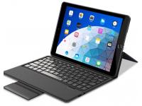 Husa Piele ESR cu Tastatura pentru Apple IPad Air (10.5), Albastra, Bulk