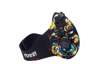 Masca protectie fata RWB Antysmogowa, Filtru Antipoluare, Multicolor, Blister