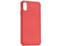 Husa TPU Roar Armor Carbon pentru Apple iPhone 7 Plus / Apple iPhone 8 Plus, Rosie, Blister