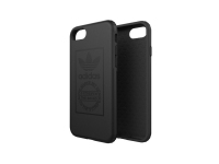 Husa Plastic Adidas OR pentru Apple iPhone 7 / Apple iPhone 8, Neagra, Blister BI8067