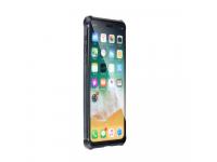 Husa Aluminiu OEM Magneto Frame cu spate din sticla pentru Apple iPhone X / Apple iPhone XS, Neagra, Blister