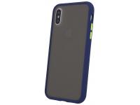 Husa TPU OEM Colored Buttons pentru Samsung Galaxy A40 A405, Bleumarin, Bulk