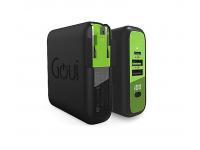 Baterie Externa Powerbank Goui Mbala, 8000 mA, Power Delivery (PD) 18W + Quick Charge 3 18W + Fast Wireless 10W, Afisaj Led, 1 x USB Type-C - 2 x USB - Wireless, Neagra, Blister G-KITWIRELESS