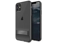 Husa TPU UNIQ Cabrio pentru Apple iPhone 11, Cu suport reglabil, Gri, Blister