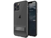 Husa TPU UNIQ Cabrio pentru Apple iPhone 11 Pro Max, Cu suport reglabil, Gri, Blister