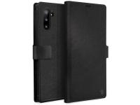 Husa Piele UNIQ Journa - Heritage pentru Samsung Galaxy Note 10 N970, Neagra, Blister