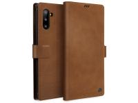 Husa Piele UNIQ Journa - Heritage pentru Samsung Galaxy Note 10 N970, Maro, Blister