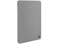 Husa Textil UNIQ Kanvas Plus pentru Apple iPad mini (2019), Gri, Blister