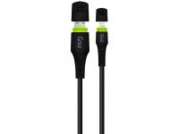 Cablu Date si Incarcare USB la Lightning Goui Waterproof, 1.5 m, Negru, Blister G-LC8PINWATER-K