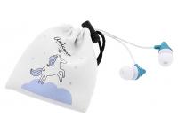 Handsfree Casti In-Ear Tellur Magiq, Cu microfon, 3.5 mm, Albastru, Blister TLL162222