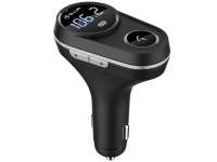 Emitator FM Bluetooth si MP3 Player AUTO cu buton Apel, Tellur FMT-B5,  Negru Blister