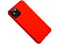 Husa TPU OEM Creative Liquid Silicone pentru Apple iPhone XR, Rosie, Bulk
