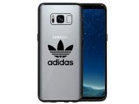 Husa Plastic - TPU Adidas OR pentru Samsung Galaxy S8 G950, GUN METAL, Transparenta, Blister