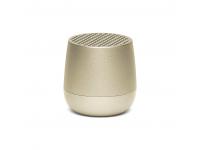 Mini Difuzor Bluetooth LEXON Mino, TWS, Selfie Remote, Handsfree, 3W, Auriu Deschis, Blister LA113TD
