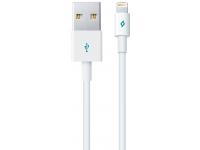 Cablu Date si Incarcare USB la Lightning TTEC, 1 m, Alb, Blister 2DK7508B