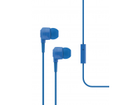 Handsfree Casti In-Ear TTEC J10, Cu microfon, 3.5 mm, Albastru, Blister 2KMM10M