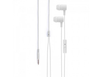 Handsfree Casti In-Ear Xqisit IE H20, Cu microfon, 3.5 mm, Alb, Blister