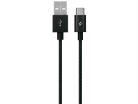 Cablu Date si Incarcare USB la USB Type-C TTEC AlumiCable, 1.2 m, Negru, Blister 2DK18S