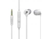 Handsfree Casti In-Ear Goji Berries, Cu microfon, 3.5 mm, Alb, Bulk GBER2WH16