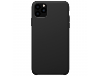 Husa TPU Nillkin Flex Pure Liquid Silicone pentru Apple iPhone 11 Pro, Neagra, Blister