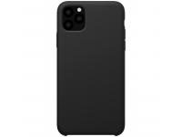 Husa TPU Nillkin Flex Pure Liquid Silicone pentru Apple iPhone 11 Pro Max, Neagra, Blister