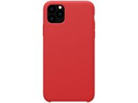 Husa TPU Nillkin Flex Pure Liquid Silicone pentru Apple iPhone 11 Pro Max, Rosie, Blister
