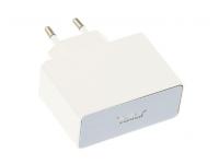 Incarcator Retea USB Tellur U201, 2.1A, 2 X USB, Alb, Blister TLL15102