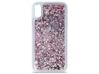 Husa TPU OEM Liquid Sparkle pentru Apple iPhone 11, Mov, Bulk